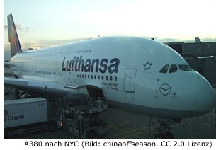 airbus 380 JFK New-York