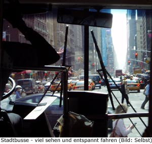 Preis Bus New-York Manhattan