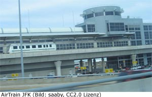 AirTrain Kennedy Aiport New-York