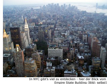 New-York Kosten Preise Urlaub Reise