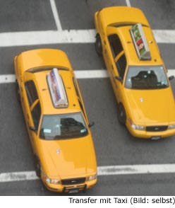 Taxi Verbindung Transfer Newark Manhattan New-York