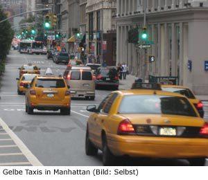 Taxi Preis Tarif Tipps New-York Manhattan