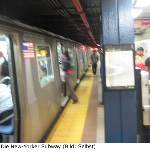 Subway U-Bahn New-York Manhattan