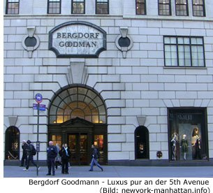 Bergdorf Goodmann Luxus Kaufhaus in new York Manhattan