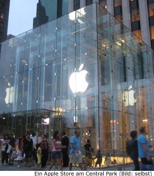 Elektronik Apple Einkaufen Shopping Manhattan New-York Tipps Läden