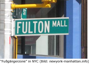 Fulton Street Mall in Brooklyn NYC