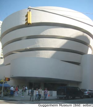 Guggenheim Kunst Museum New-York Manhattan