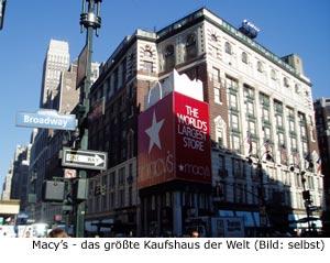 Kaufhaus New-York Manhattan
