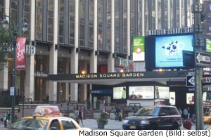 Madison Square Garden New-York Manhattan Konzert