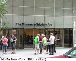 MoMa Kunst Museum New-York Manhattan