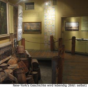 Geschichte Stadt Museum New-York Manhattan