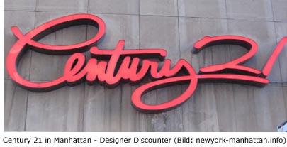 Designer – Discounter - Century 21