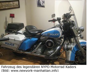 NYC Police Museum Harley Davidson