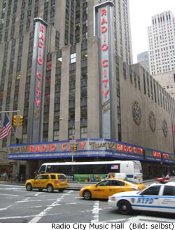 Radio City Music Hall New York Konzerte