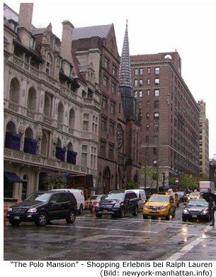 Polo Ralph Lauren Fashion Polohemden NYC Manhattan Madison Avenue Shopping