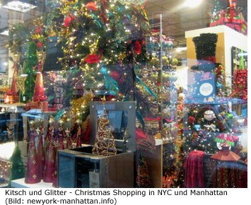 Christmas Shopping in New York City