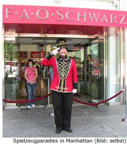 Shopping New York Manhattan Toys FAO Schwarz