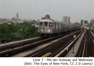 Queens Geheim tipp Linie 7 international subway weltreise