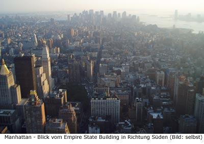Manhattan Informationen Stadtbezirke