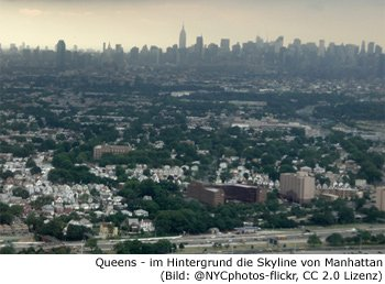 Queens, Stadtbezirk, Viertel, Borough, New-York
