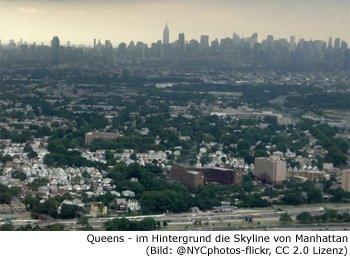 Queens, Stadtbezirk, Viertel, Borough, New-York