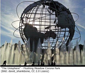 Queens, Sightseeing, Sehenswürdigkeiten, Flushing, Unisphere