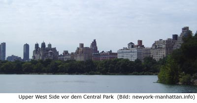 Upper West Side Stadviertel New-York Manhattan